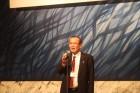 近況報告される教授OBの久留須誠さん(現モンゴル国立科学技術大学付属工科大学 副校長)